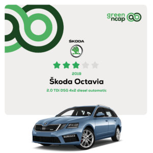 Škoda Octavia - Green NCAP Results October 2019