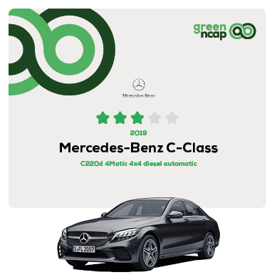 Mercedes-Benz C-Class - Green NCAP Results July 2019