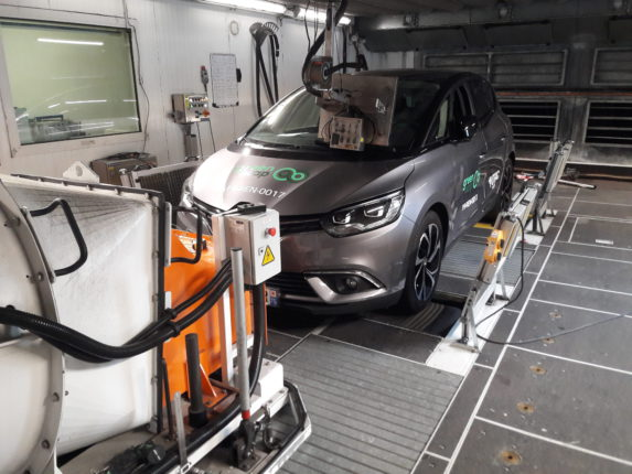 Green NCAP Renault Scenic 2019 Laboratory Test 2